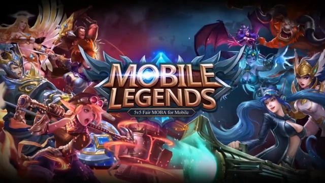 Bermain Mobile Legend