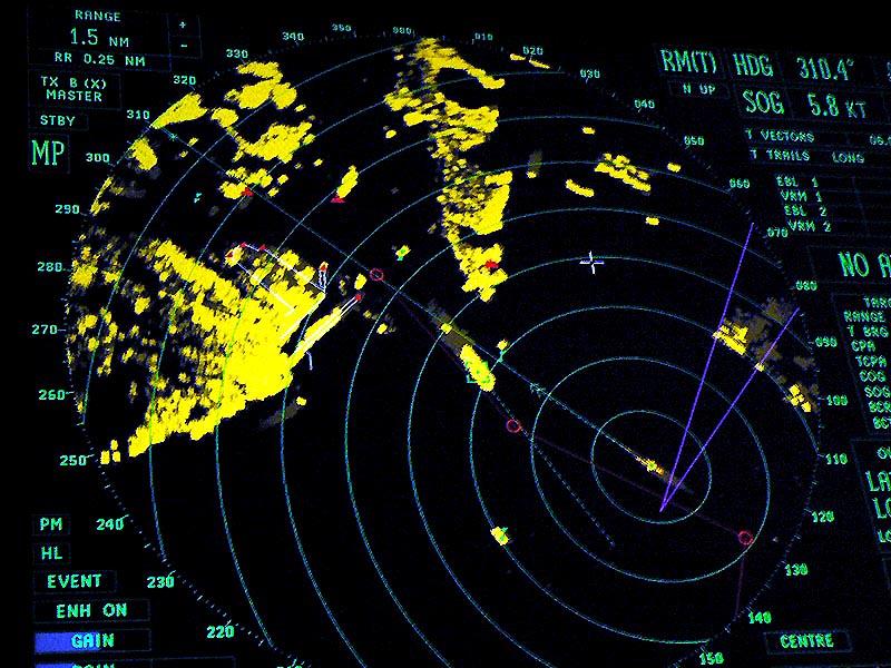 Radar pada Kapal